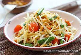 Som Tum Salad Pepaya Hijau Terkenal di Thailand